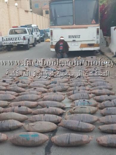 وزارة الداخلية تواصل ضرباتها الأمنية ضد كبار مهربى المواد المخدرة – جريدة الأهالي المصرية